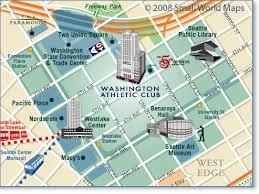 city map custom city maps seattle map