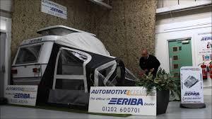 Eriba Awning Eriba Inflatable Awning Now Automotive Leisure Youtube