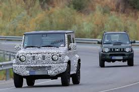 next suzuki jimny to get more rugged look to emphasise off road