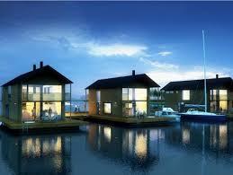 beautiful lake huron floating house by mos inhabitat green marinetek unveils finland s first floating village floating house