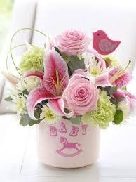 Baby Shower Flower Centerpieces 22 Best New Baby Flower Arrangements Images On Pinterest Flower