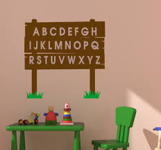 abc decal alphabet sticker kids room abc educational wall decal abc decal alphabet sticker kids room abc educational wall decal nursery wall decor childs room decal girls toddler 27 x 27 inches