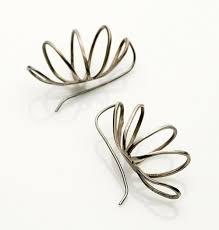 wire earrings s04 curved wire earrings filomena demarco jewelry