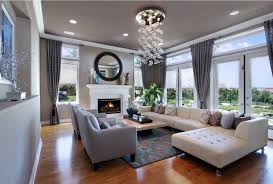 Living Room Window Treatments For Large Windows - living room rustic chic living room ideas classic chandelier