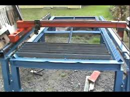 cnc plasma cutting table cnc plasma cutting table update youtube