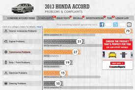 reliability guide what u0027s the most reliable year of honda accord