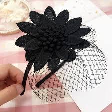 korea flowers made retro hair accessories hair bows