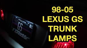 vsc zero point calibration lexus 1998 2005 lexus gs license plate light bulb replacement youtube