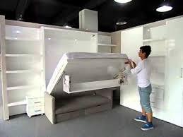 Folding Cing Bed Inspiring King Size Folding Bed Multifunctional Space Saving Wall