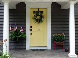 exterior door house appeal bright brilliant focal points the