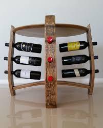 wine rack side table deconstructed side table wine rack barrel art designs