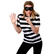 couples burglar fancy dress costumes his and hers halloween robber