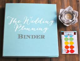 wedding planner binder the wedding binder delong