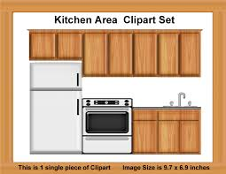 Kitchen Cabinet Art Clipart Kitchen Cabinets Clip Art Library