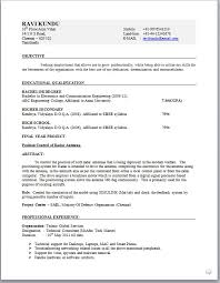 Sample Resume Formats Download by Telecom Resume Format Download Resume Format