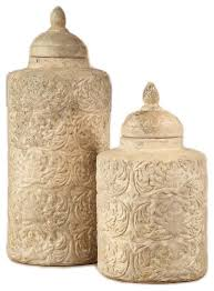 ceramic canisters for the kitchen 2 camden sand finish ceramic canisters set