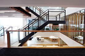 U Stairs Design Scissor Stairs