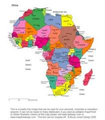 africa map with country names and capitals printable map of africa africa printable map with country