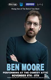 the comedy attic ben moore is back