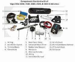 viper elite 3000 lb winch sidebysidestuff com