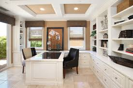 Custom Built Desks Home Office Built In Office Home Office Traditional With White Drawers White