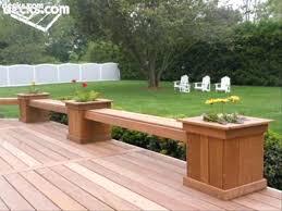 deck bench ideas plans designs instead railing gammaphibetaocu com