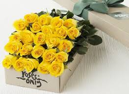 yellow flowers box of roses beautiful yellow flowers new york gifts