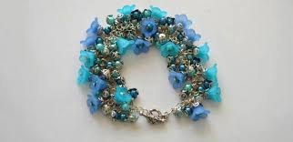 flower beads bracelet images Floral bracelet design how to make flower bracelet with acrylic jpg