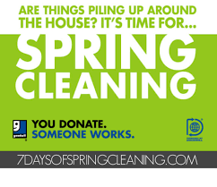 springcleaning 7 days of spring cleaning with goodwill ekl declutter downsize