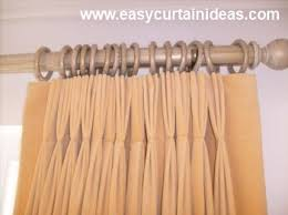 Curtain With Hooks How To Hang Pinch Pleat Curtains On A Pole Functionalities Net