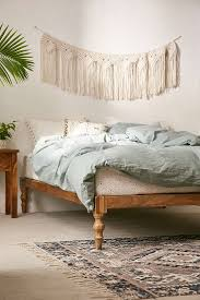 How To Make A Wooden Platform Bed by Bohemian Platform Bed Urban Outfitters