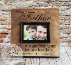 step fathers day gifts step picture frame step personalized picture frame