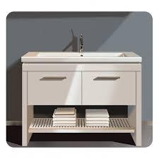Free Standing Vanity Units Bathroom Free Standing Vanities 4coastdesign