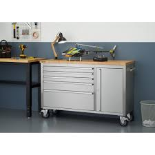 stainless steel workbench cabinets trinity 37 in h x 56 in w x 19 in d stainless steel workbench