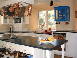 country kitchen with soapstone counters u0026 l shaped in murphys ca