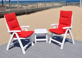 Recycled Plastic Outdoor Furniture Polymer Recycled Plastic Oceanside Casual Furniture
