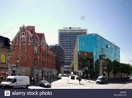 Modern Buildings Street Scene With Modern Buildings In The New Town Tallinn