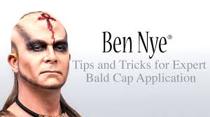 professional bald cap ben nye s tips and tricks for expert bald cap application