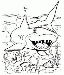shark coloring pages ages shark coloring sheets printer