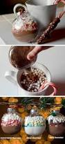 cocoa mix diy christmas tree ornaments these would make such