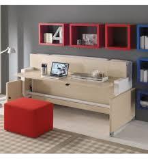 letto a con scrivania in one letto a scomparsa singolo con scrivania scrittoio