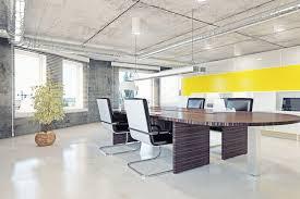 Home Loft Office Home Office Modern Loft Office Interior 3d Design Concept Stock