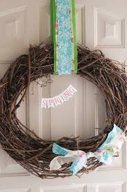 Spring Wreath Ideas 62 Best Spring Images On Pinterest Plaid Picnics And Porch