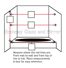 economy glass how to measure for your new shower or windows