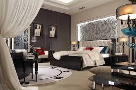 Modern Black Bedroom Sets Bellagio Modern Black Crocodile Lacquer Nightstand