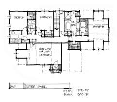 conceptual house plan 1460 rear entry garage houseplansblog