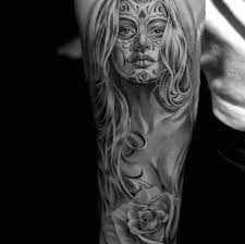 Day Of The Dead White Best Day Of The Dead Tattoos
