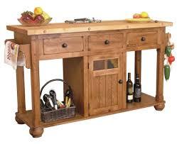 oak kitchen island kitchen durable sedona rustic oak kitchen island with three