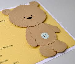 teddy baby shower invitations reserved listing brown teddy birthday invitation brown