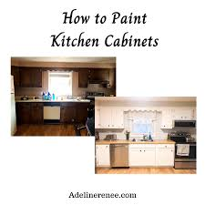 how to paint kitchen cabinets sprayer painting cabinets is an inexpensive way to make a